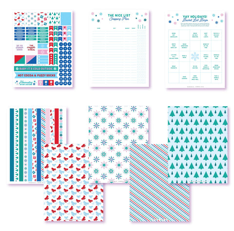 Yay! For The Holidays Planner Printables