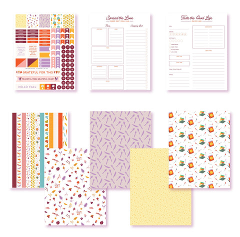 Taste The Good Life Planner Printables