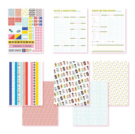 It's Just Beachy! Planner Printables