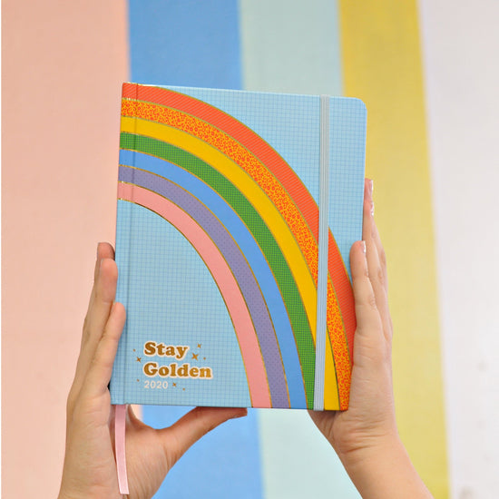 Stay Golden 17-Month 2020 Planner - Personal