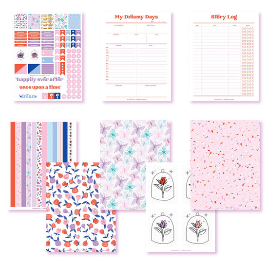 Once Upon A Time Planner Printables