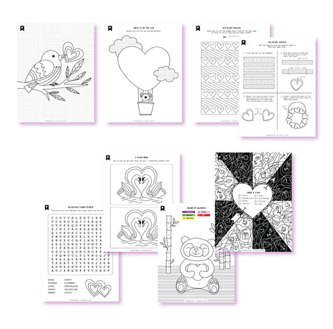 2020 January Kids Printables