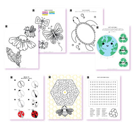 Earth Day Everyday Kids Printables