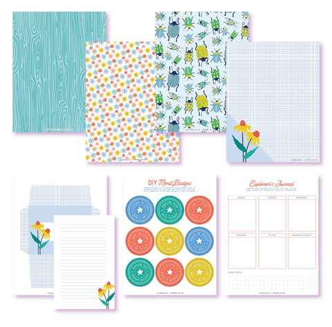 Day-To-Day Explorer Pro Printables