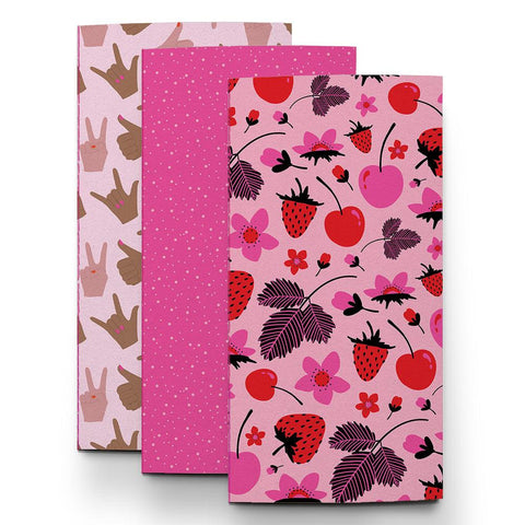 Tickled Pink Traveler Notebook Collection by Pipsticks