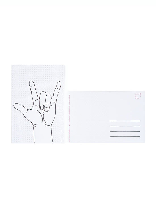 "Color-in ""I Love You"" Postcard 20 Pack"