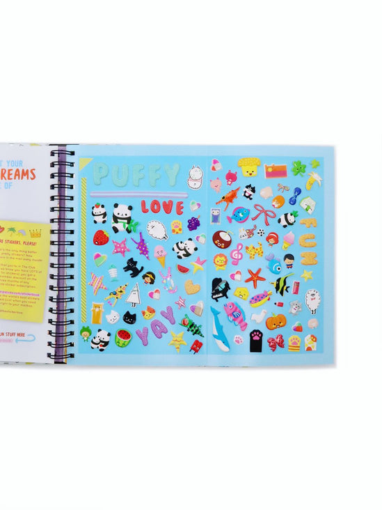 Hands Off My Stickers! Sticker Collection Book