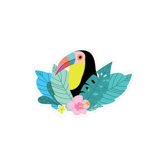 Tropical Toucan Vinyl