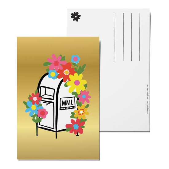Floral Delivery Postcard Pack