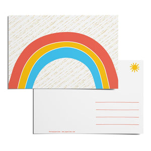 Rainbow Postcard Pack