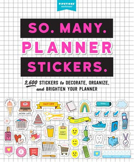 So. Many. Planner Stickers. Book
