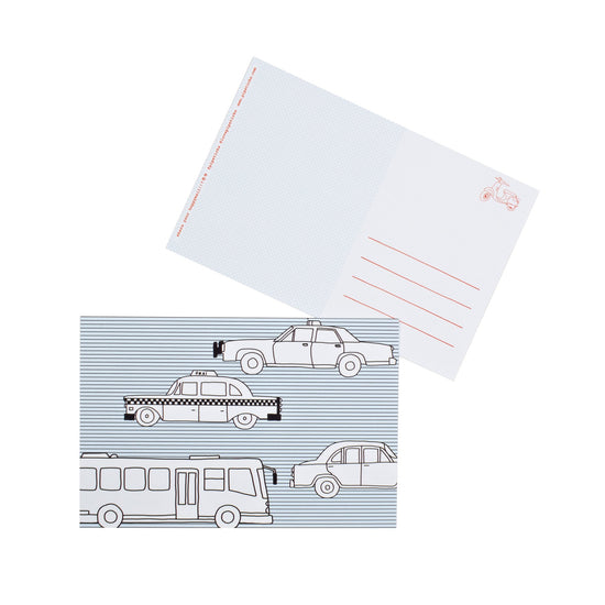 Color-in City Travel Postcard 20 Pack