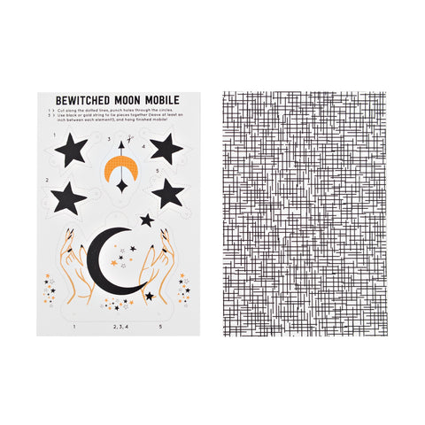 Bewitched Moon Mobile DIY Card 20 Pack