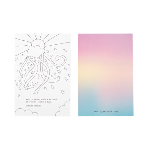 Find A Rainbow Mini Quote Card Pack
