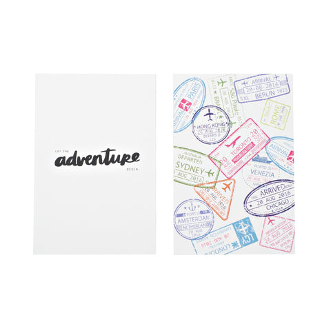 Let The Adventure Begin Mini Quote Card Pack