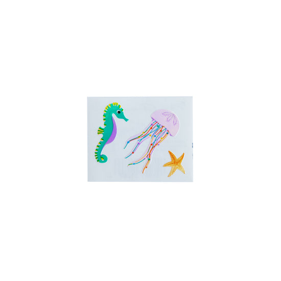 Mrs. Grossman's Sea Life Holographic Sticker Sheets