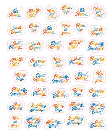 PRE-SALE: So. Many. Feelings Stickers. Book