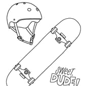 Later Skater! Kids Printables