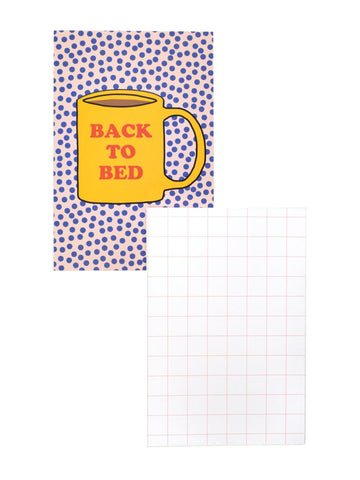 Back to Bed Notecard 20 Pack