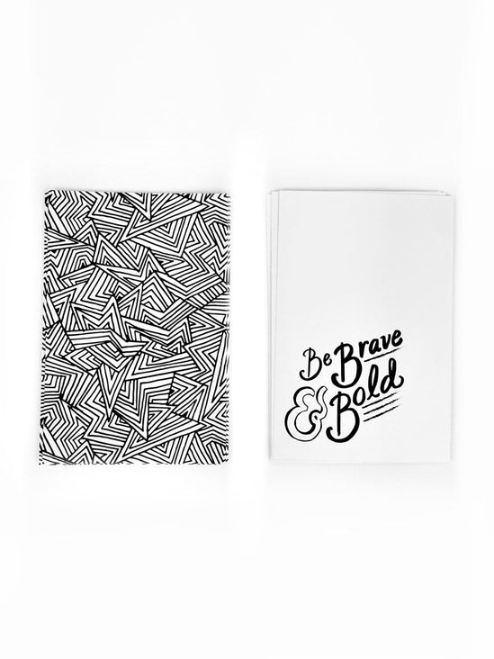 Be Brave & Be Bold Mini Quote Card Pack