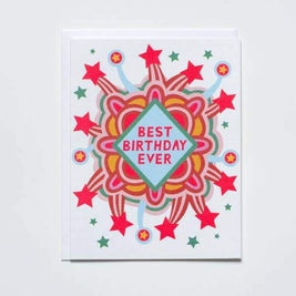 Best Birthday Ever Greeting Card by Banquet Workshop