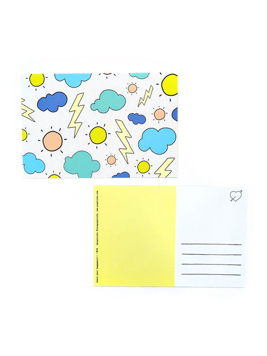 Cloudy Days Postcard Pack