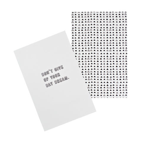 Don't Give Up Your Day Dream Quote Card Pack