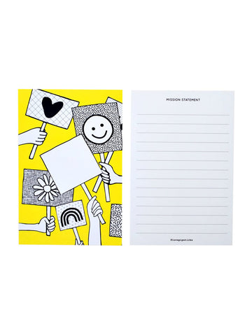 Give Me A Sign Mission Statement Notecard 20 Pack