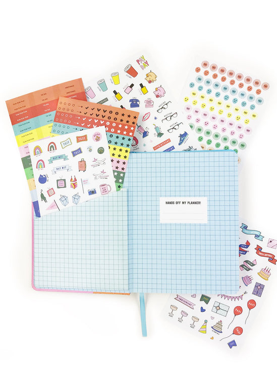 Here Comes the Sun 17-Month 2020 Planner - Personal