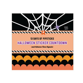 13 Days of Halloween Sticker Countdown