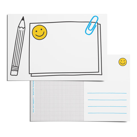 Color-in Sketchpad Postcard Pack