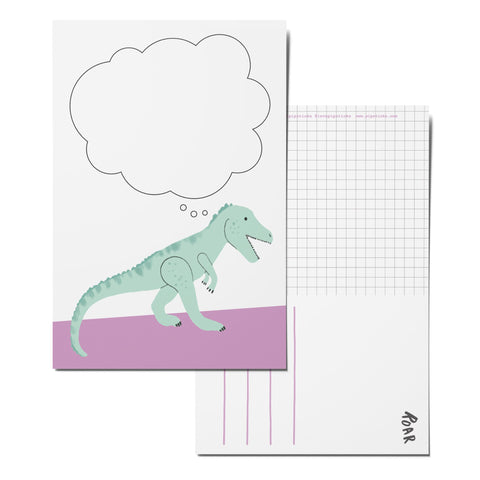 Dino-mite Idea Postcard Pack