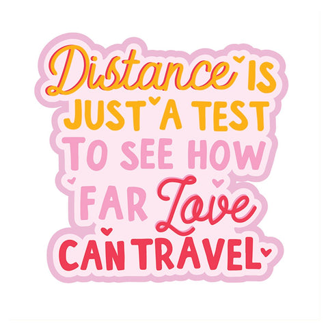 Distance Is Just A Test Vinyl