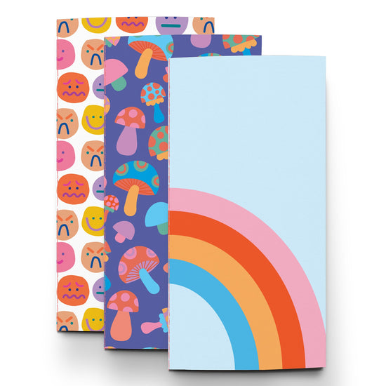 Rainbow Vibes Traveler Notebook Collection by Pipsticks