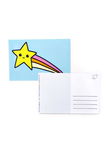 Kawaii Star Postcard 20 Pack