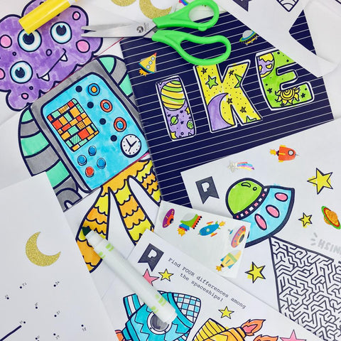 Out Of This World Kids Printables