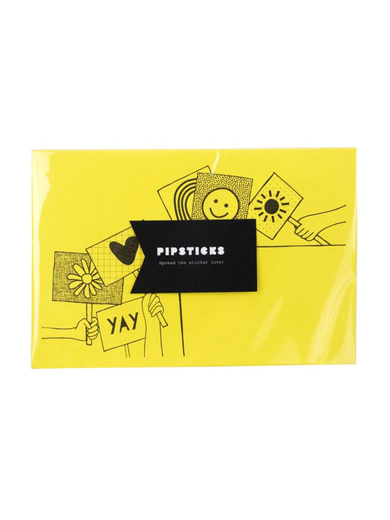Pipsticks Happy Signs Envelope 6-Pack