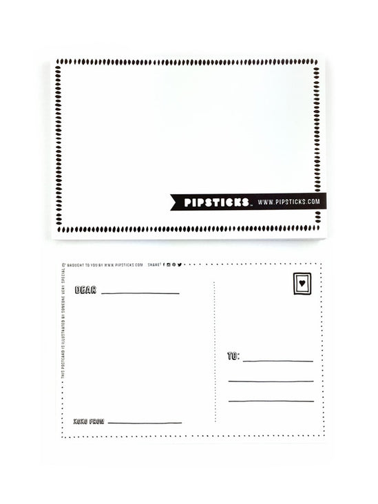 Pipsticks Postcard 20 Pack