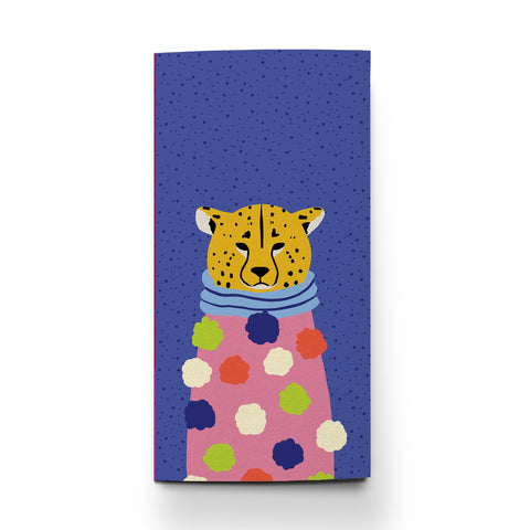 Pom Pom Cheetah Traveler Notebook by Pipsticks