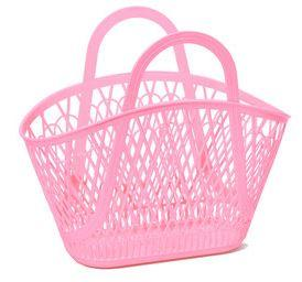 Sun Jellies Betty Basket - Bubblegum Pink