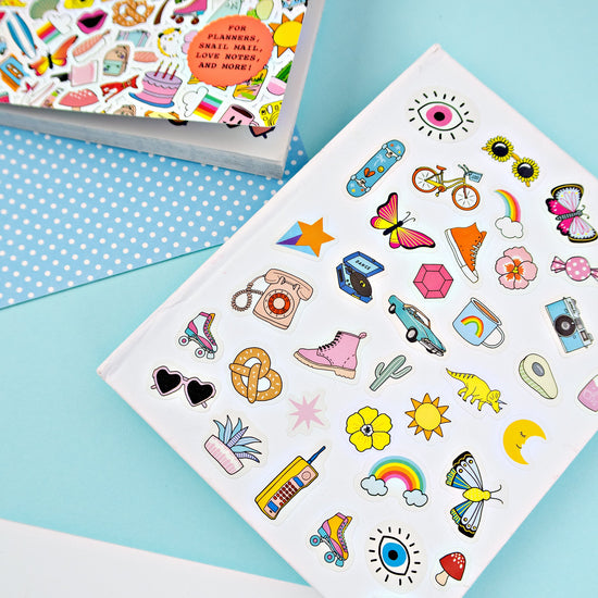 So. Many. Stickers. Book