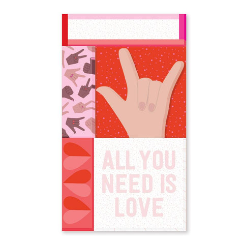Show Your Love Sticky Note Set by Pipsticks