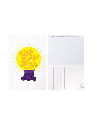 Your Future is Bright Postcard 20 Pack