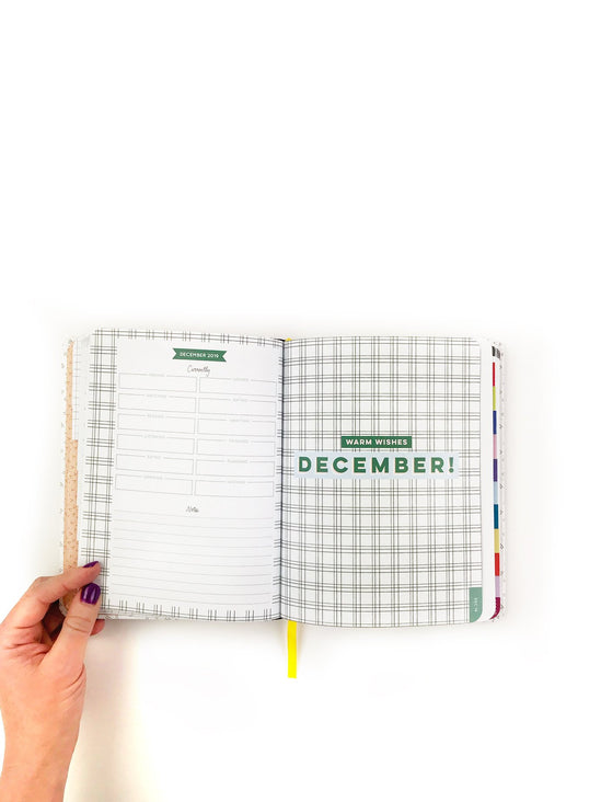 These Are The Days 17-Month 2020 Planner - Personal