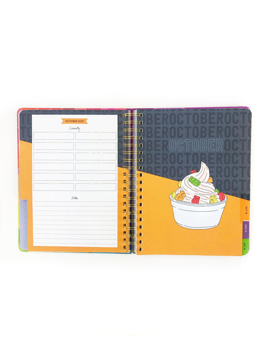 Stay Golden 17-Month 2020 Planner - Large