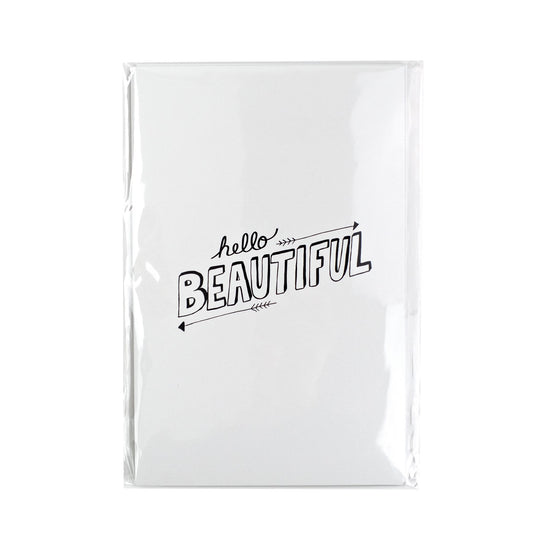 Hello Beautiful Quote Card Pack