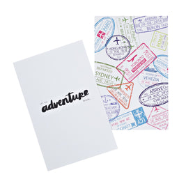 Let The Adventure Begin Quote Card Pack