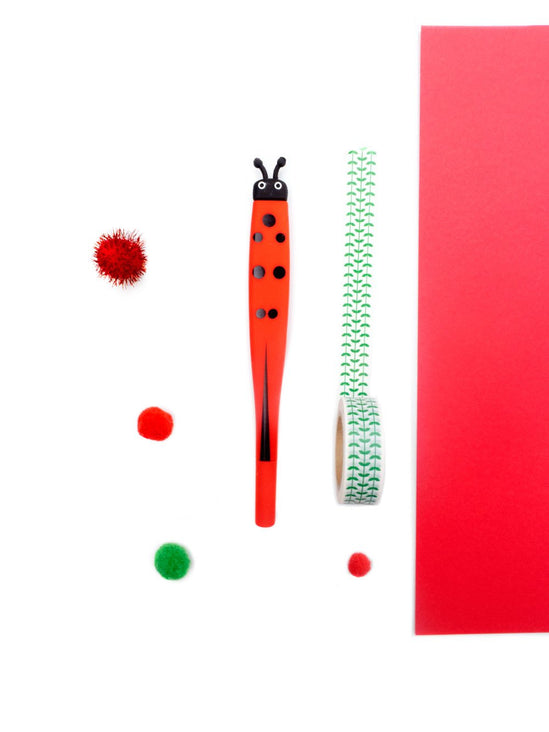 Ladybug Fine Point Gel Pen