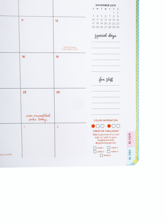 This Changes Everything 17 Month Planner