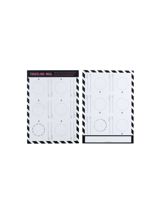 Traveling Mail Notecard 20 Pack